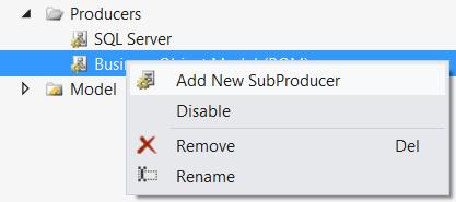 Add Sub-Producer