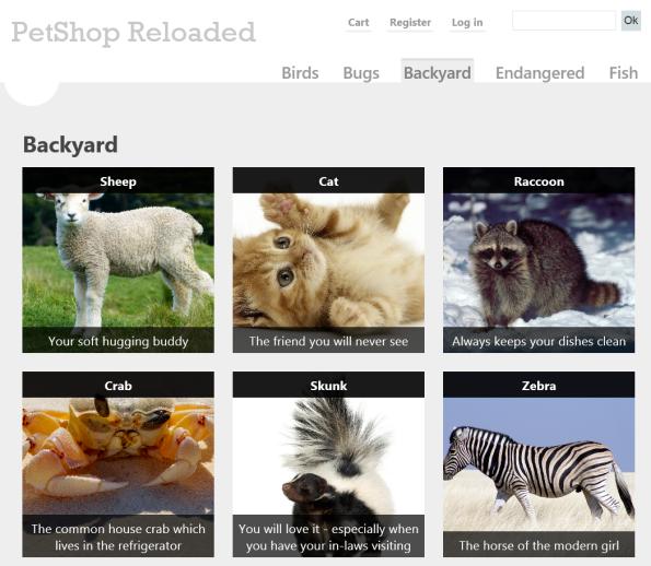 Pet Shop Reloaded