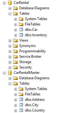 Store SQL result