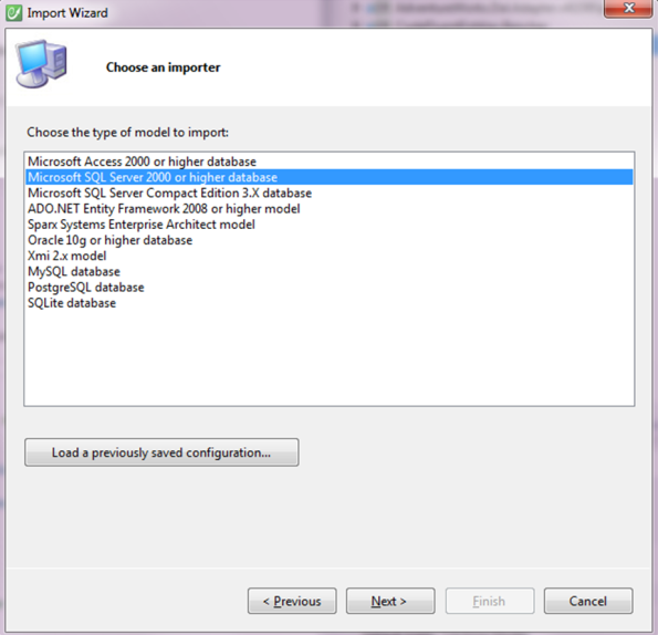 SQL Server Importer