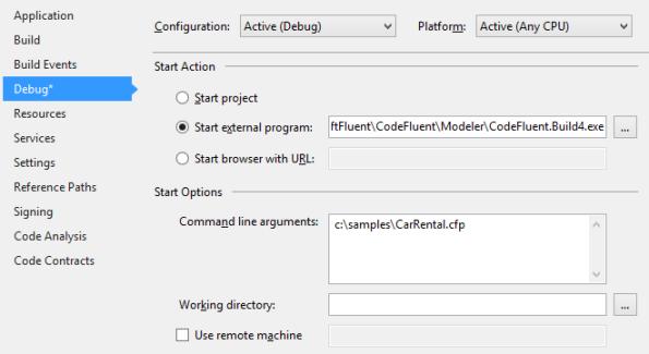 Producer Debugger Configuration