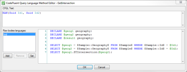 CFQL SqlGeography