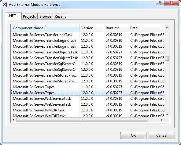 SQL Server Reference
